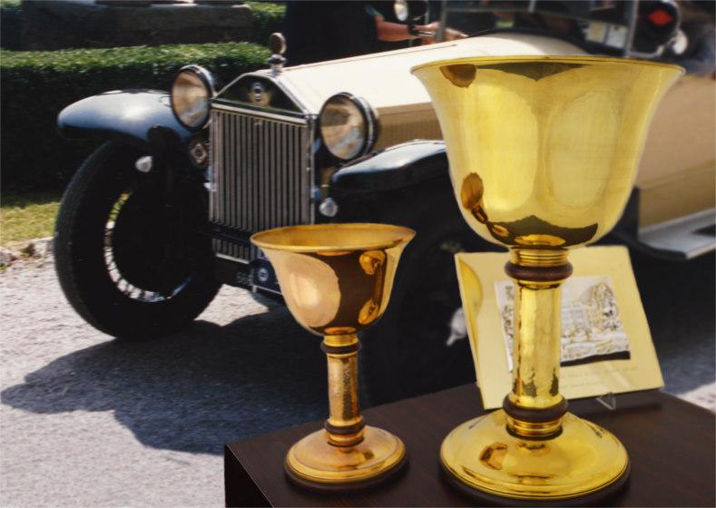 coppa oro concorso d'eleganza auto d'epoca